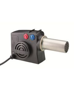 Lightweigh and portable hot air blower. Leister Hotwind Premium.