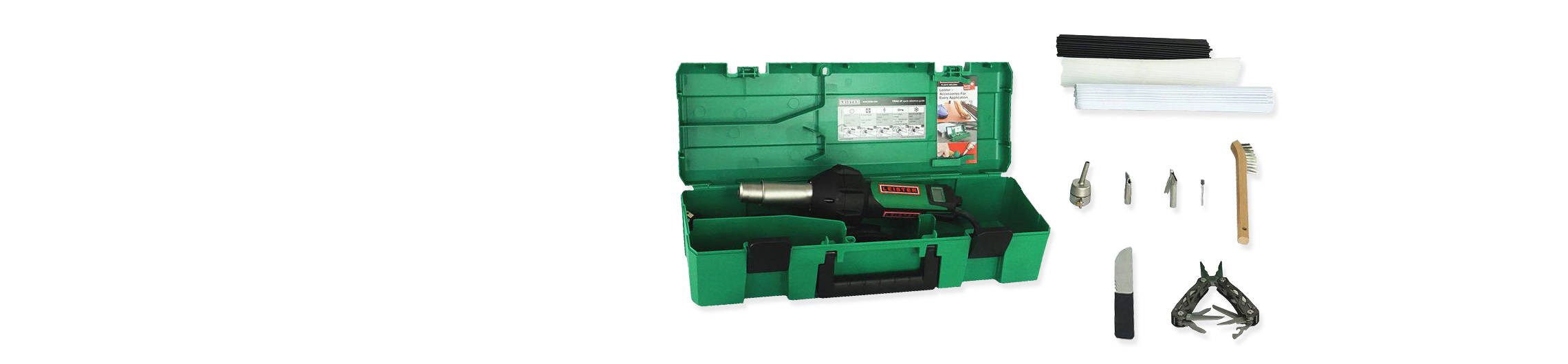 Triac ST Plastic Welding Kit